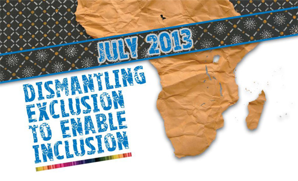 Cover image for Dismantling Exclusion to enable Inclusion – Johannesburg 2013